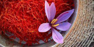 پودر زعفران متین