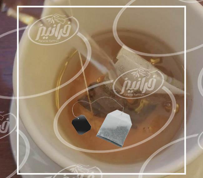 خرید اینترنتی چای زعفرانی كیسه ای درجه یك