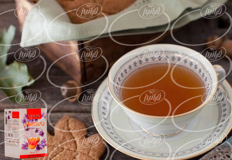 فروشگاه اینترنتی چای نوین زعفران تی بگ