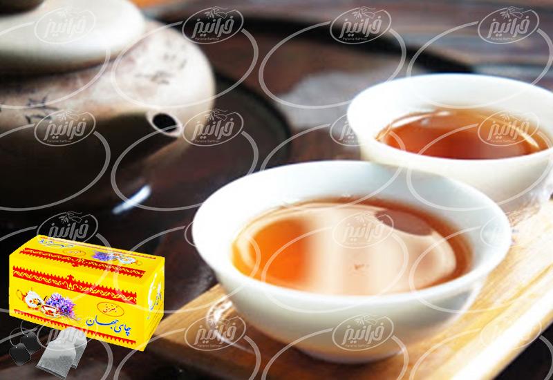 تعرفه عالی چای جهان زعفران در ژاپن