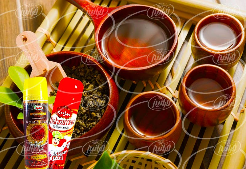 خرید آنلاین اسپری زعفران برای کشور عراق