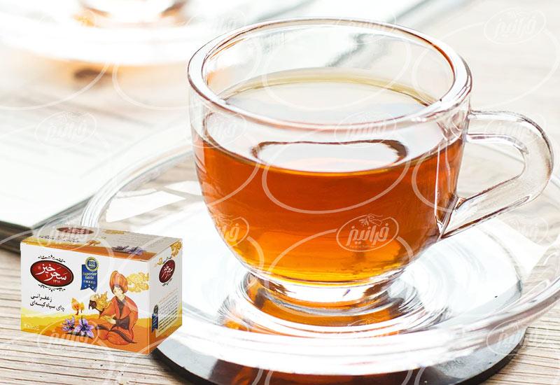 خرید چای زعفرانی سحرخیز با شرایط عالی
