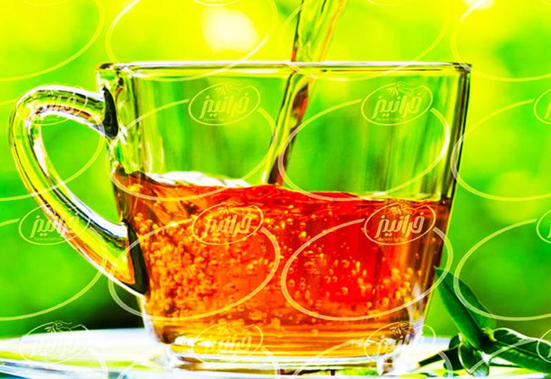 پخش تضمینی چای زعفران کیسه ای به صورت آنلاین