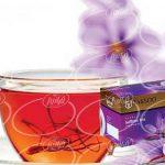 مجموعه بازرگانی چای زعفرانی تکسو کیسه ای