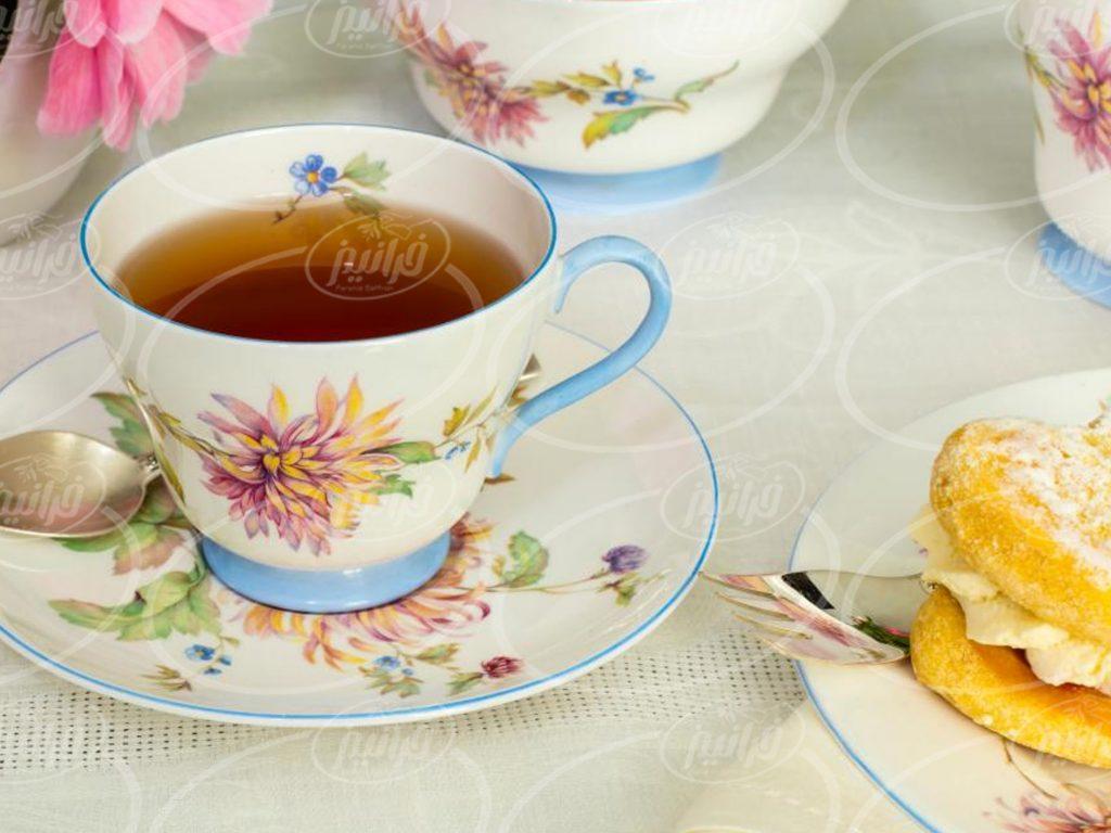 دریافت چای نپتون زعفرانی کارتنی جهت صادرت