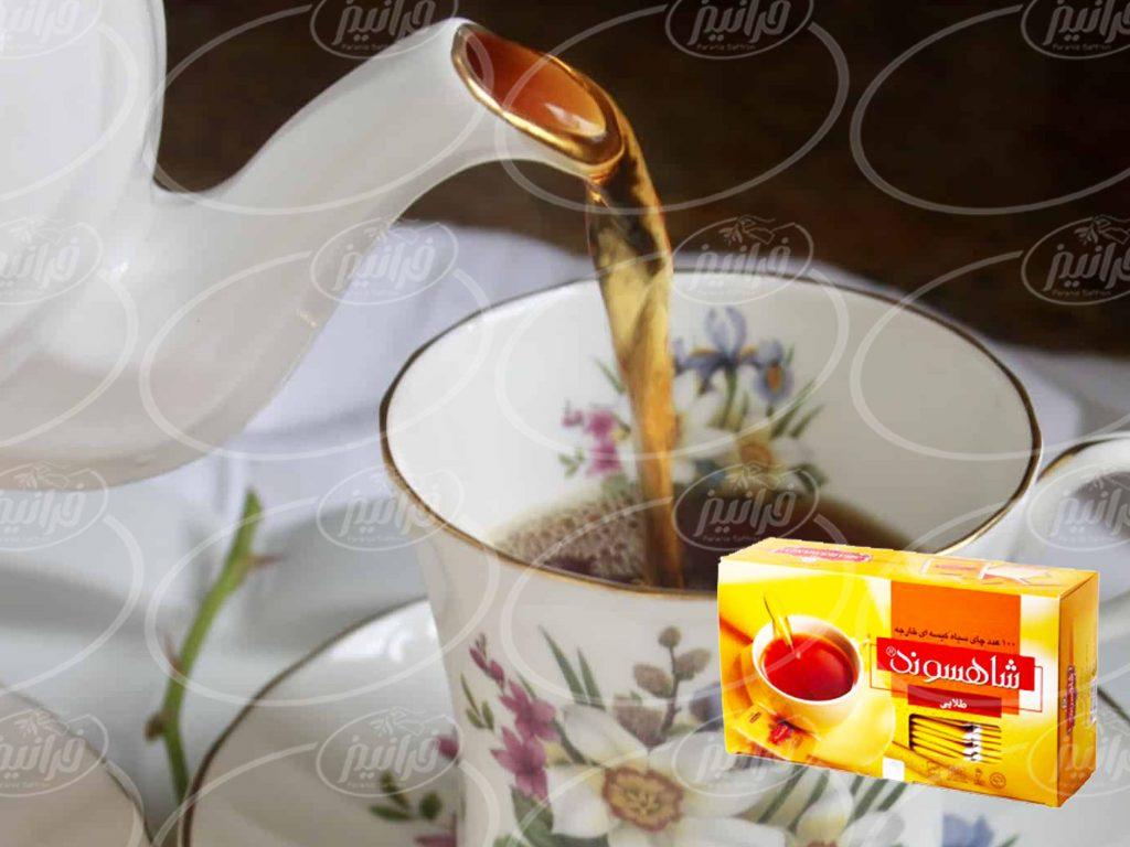 شرط استفاده از تخفیف چای زعفرانی شاهسوند