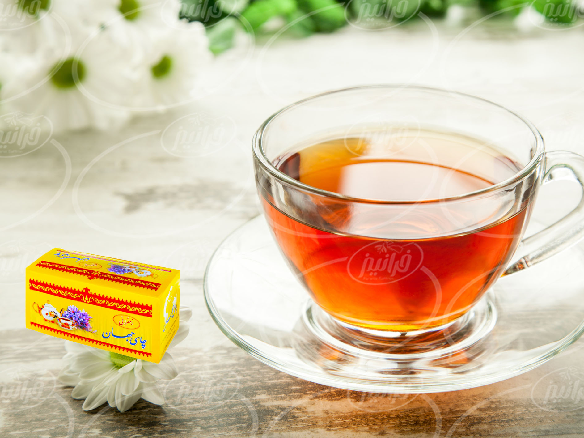 نمایندگی اصلی فروش چای زعفرانی جهان به صرفه
